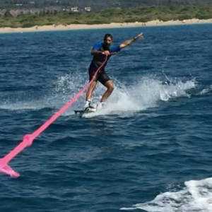 Lezione di Wakeboard - Gallipoli, Salento