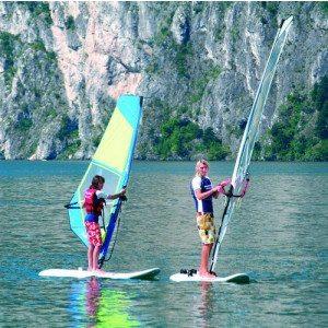 Lezione di windsurf per principianti - Lago di Garda