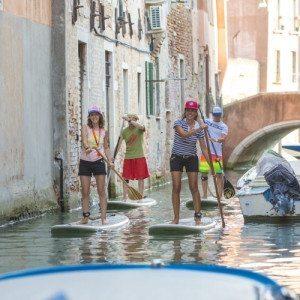 Lezione ed escursione guidata in SUP per i canali - Venezia