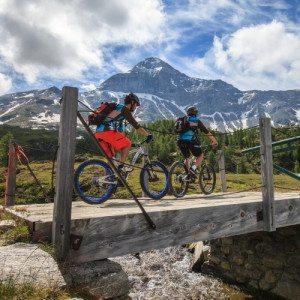 "Mountainbike su Pista ""Pump Track"" in Valtellina – Sondrio"