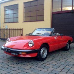 Noleggio speciale Alfa Romeo per un giorno - Lago di Garda