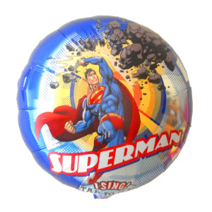 "SINGENDER HELIUM-LUFTBALLON ""SUPERMAN"""