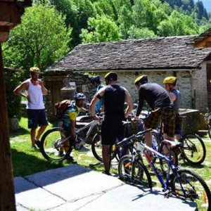 Percorso in mountain-bike - Alta Valsesia