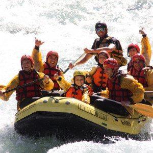 Rafting esplorando la Val di Sole - Trentino