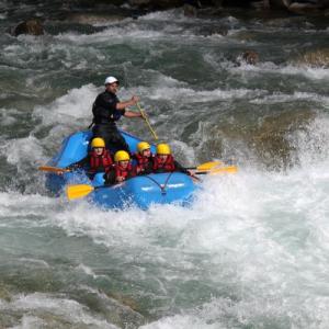 Rafting facile sul fiume Isarco - Alto Adige