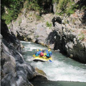 Rafting fra le Gole del Lao - Laino Borgo, Calabria