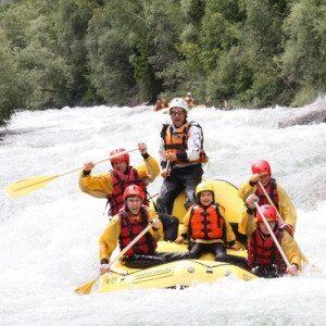 Rafting in Val di Sole, ideale per famiglie - Trentino