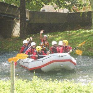 "Rafting ""intensive"" sul fiume Nera - Scheggino, Umbria"