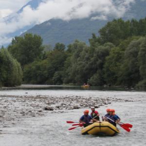 Rafting sul fiume Adda e sport in Valtellina - Sondrio