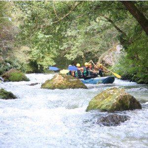 Rafting sul fiume - Serravalle di Norcia, Umbria