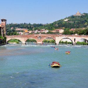 Rafting tour in centro storico - Verona