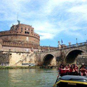 Rafting tra le meraviglie e la storia della Capitale - Roma