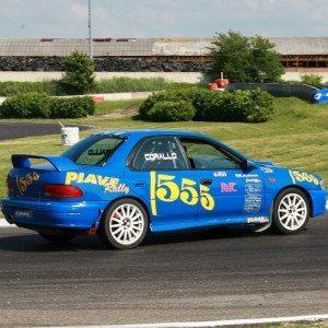 Rally a bordo della Subaru Impreza 555 - Latina