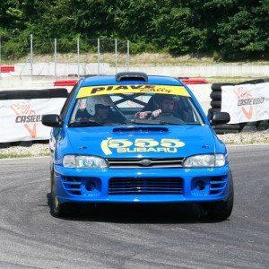 Rally a bordo della Subaru Impreza 555 - Torino