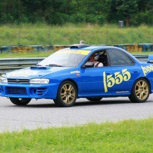 Rally a bordo della Subaru Impreza 555 - Udine