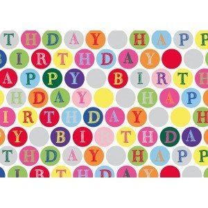 "Carta da regalo ""Happy Birthday"""