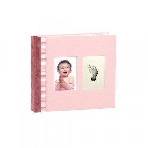 Album di ricordi con impronta - Rosa