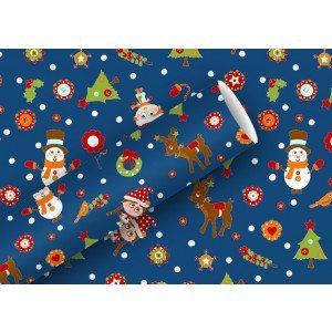 """Carta da regalo natalizia """"Santa and Friends"""""""
