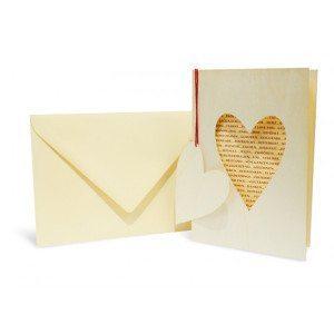 Carta d'auguri - Cuore