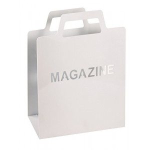 "Portariviste ""Magazine"" - Bianco"