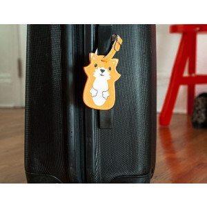 Etichetta per valigia - Volpe