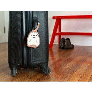 Etichetta per valigia - Riccio