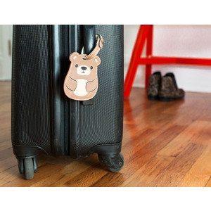 Etichetta per valigia - Orsetto
