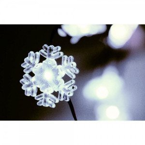 Luci di Natale - Fiocco di neve