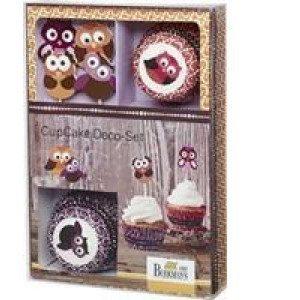 Set per Cupcake 'Gufi'