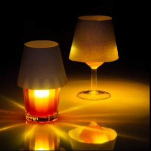 Lampada ricaricabile galleggiante
