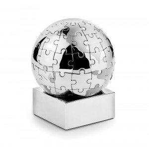 Puzzle mappamondo 3D