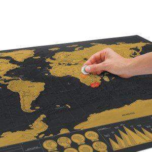 Rubbel-Weltkarte - De-luxe-Edition