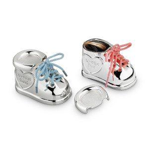 scarpine portaoggetti per neonati personalizzabil