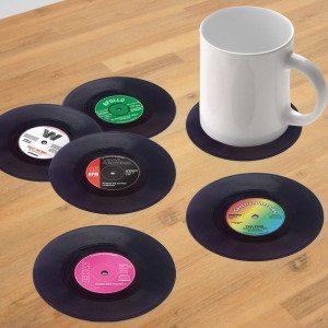 Schallplatten Untersetzer