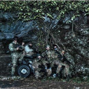 Soft Air: una guerra tra bande rivali - Lago di Garda