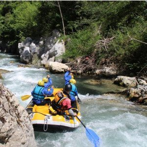 Soft Rafting per adulti e bambini - Laino Borgo, Calabria