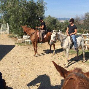Soggiorno con cena romantica ed escursione a cavallo - Siena