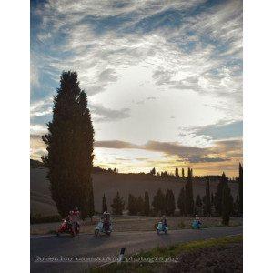 Soggiorno in agriturismo + noleggio vespa - Montepulciano