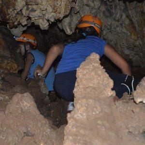 Speleologia nel Parco naturale di Porto Selvaggio - Puglia