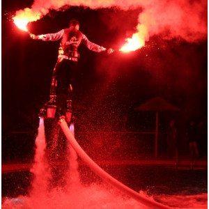 Spettacoli di flyboard per eventi - Tropea