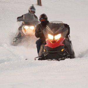 Tour guidato in motoslitta in Alta Valtellina - Livigno, Sondrio