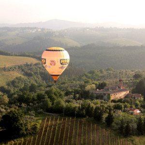Tour in mongolfiera - Firenze e Chianti
