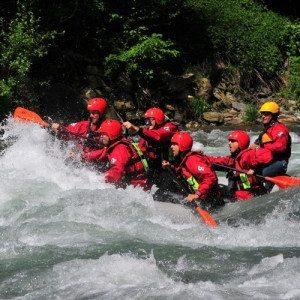 Tour rafting medio-difficile sul fiume Isarco - Sud Tirolo