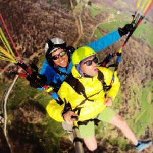 Trekking in montagna e volo in parapendio biposto - Piemonte