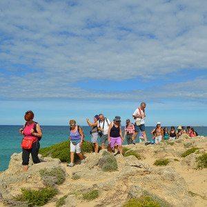 Trekking nel paesaggio delle dune di Gallipoli - Salento, Puglia