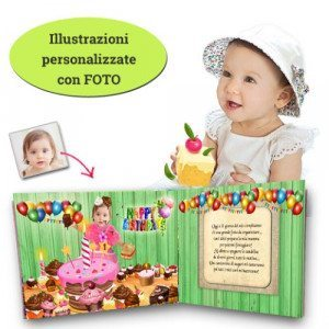 Un libro da ricordare: libro personalizzato compleanno - Online