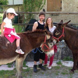 Una notte in agriturismo e trekking con gli asini - Trentino
