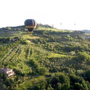 Volo Esclusivo in mongolfiera - Lazio