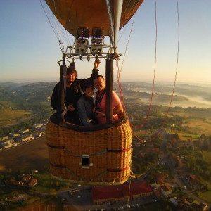 Volo esclusivo in mongolfiera per 2 persone - Siena, Toscana