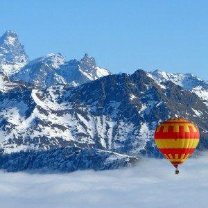Volo esclusivo in mongolfiera per 2 persone - Valle d'Aosta